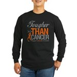 Tougher Than Cancer Long Sleeve Dark T-Shirt