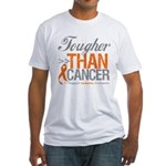 Tougher Than Cancer Fitted T-Shirt