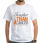 Tougher Than Cancer White T-Shirt