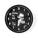 Saving Your Butt Wall Clock