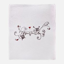 Cute Hobbies Throw Blanket