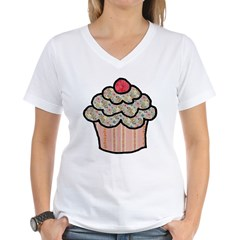 Country Calico Cupcake Shirt