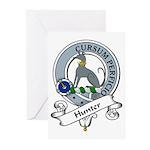 Hunter Clan Badge Greeting Cards (Pk of 10)