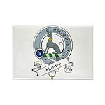 Hunter Clan Badge Rectangle Magnet (10 pack)