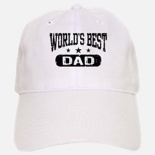 World's Best Dad Baseball Baseball Cap