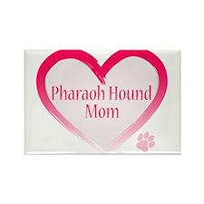 Pug Mom Rectangle Magnet (10 pack)
