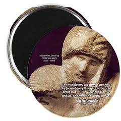 Michelangelo Marble Pieta Magnet