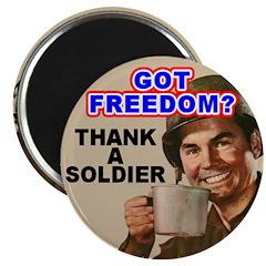 Got Freedom? Thank A Soldier 2.25