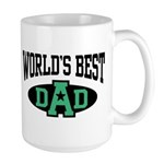 World's Best Dad Large Mug