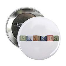 """Seamus Alphabet Block 2.25"""" Button (10 pack)"""