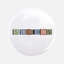 """Seamus Alphabet Block 3.5"""" Button (100 pack)"""