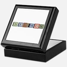 Seamus Alphabet Block Keepsake Box