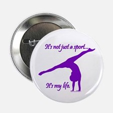 Gymnastics Button - Life