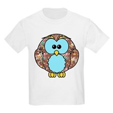 Country Rose Owl T-Shirt