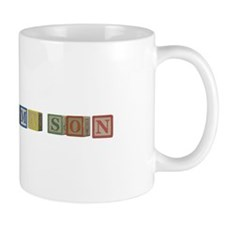 Mason Alphabet Block Mug