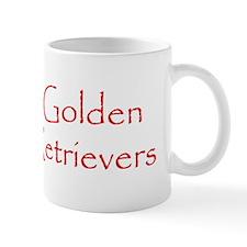 GOLDEN RETRIEVER PICKUP Mug