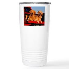 GOLDEN RETRIEVER PICKUP Travel Mug