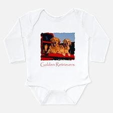 GOLDEN RETRIEVER PICKUP Long Sleeve Infant Bodysui