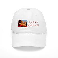 GOLDEN RETRIEVER PICKUP Baseball Cap