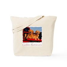 GOLDEN RETRIEVER PICKUP Tote Bag