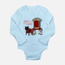 Cairn Terrier Long Sleeve Infant Bodysuit