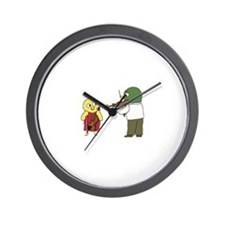 Violin Lesson Wall Clock