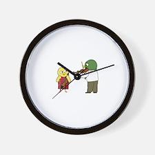 Violin Lesson Wall Clock