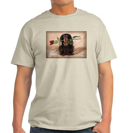 Hallie Dachshund Designs Light T-Shirt