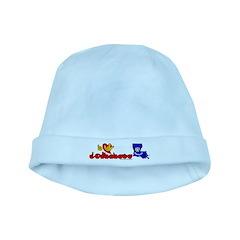 ILY Louisiana baby hat