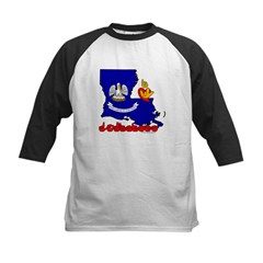 ILY Louisiana Kids Baseball Jersey