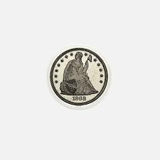 Seated Liberty Obverse Mini Button