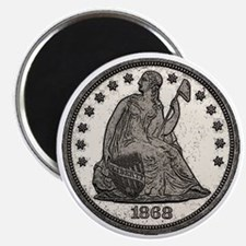 Seated Liberty Obverse Magnet
