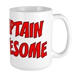 Captain Awesome Large Mug