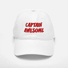 Baseball Baseball Captain Awesome Baseball Baseball Cap