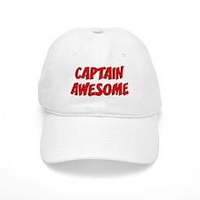 Baseball Captain Awesome Baseball Cap