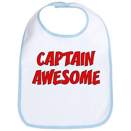 Captain Awesome Bib