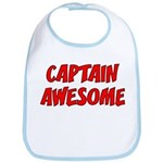 Captain Awesome Bib