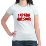 Captain Awesome Jr. Ringer T-Shirt