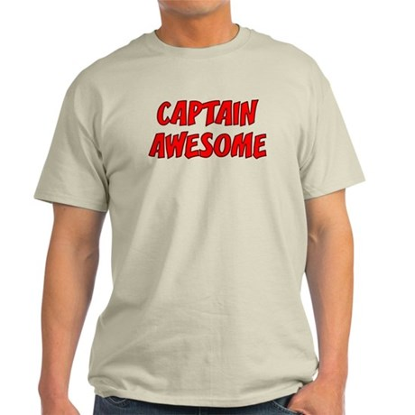 Captain Awesome Light T-Shirt