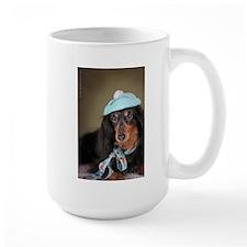 Hallie Dachshund Designs hat Mug