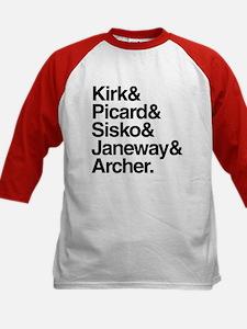 Star Trek Captains Tee