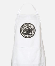 Seated Liberty Reverse BBQ Apron