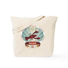 Maine Lobster Crest Tote Bag