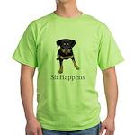 Sit Happens Green T-Shirt