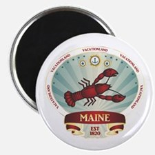 Maine Lobster Crest Magnet