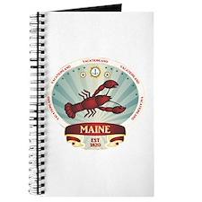 Maine Lobster Crest Journal