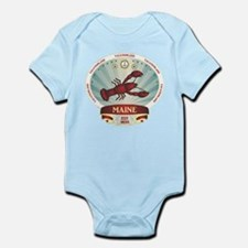 Maine Lobster Crest Infant Bodysuit