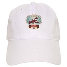Maine Lobster Crest Baseball Cap