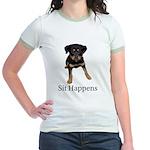 Sit Happens Jr. Ringer T-Shirt