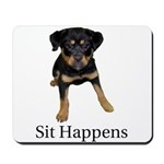 Sit Happens Mousepad